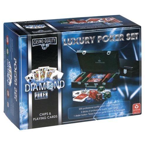 Cartamundi Luxury Poker 200 Chip Set