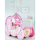 Disney Princess Carriage Feature Toddler Bed & Fully Sprung Mattress