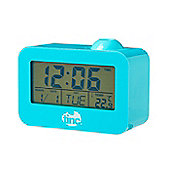 Time Beam Projector Clock - Blue