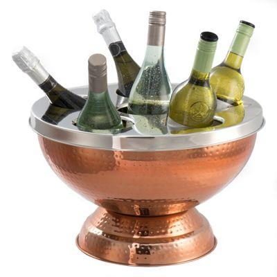 Epicurean 6 Bottle Wine / Champagne Cooler, Copper