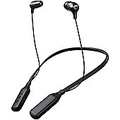 JVC HAFX39BT Bluetooth Neckband In-Ear Headphones - Black