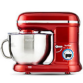 VonShef Electric Food Stand Mixer - Red