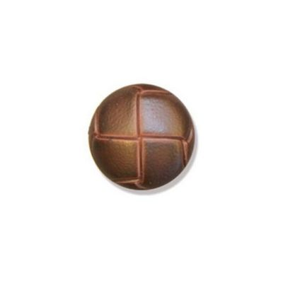 Impex Brown Leather Buttons 20mm 10pk