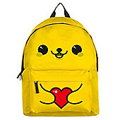 A Whole Lotta Love Yellow Backpack 30.5x44cm