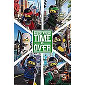 LEGO® Ninjago Movie Six Ninjas Poster 61x91.5cm