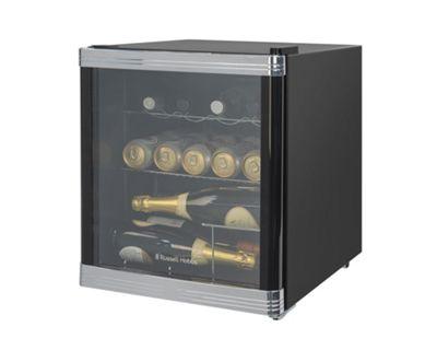 Russell Hobbs RHGWC1B, Glass Door Cooler, Black
