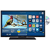 Digihome 32HDDVDCNTD 32 Inch HD T2 smart LED TV/DVD combi with Freeview Play
