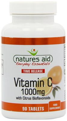 Natures Aid Vitamin C 1000mg Time Release - 90 Tablets