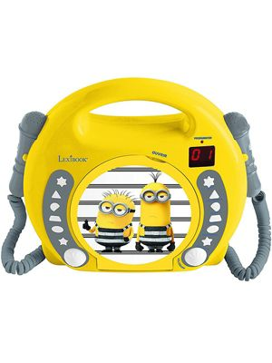 Despicable Me Minions CD Player with Microphones