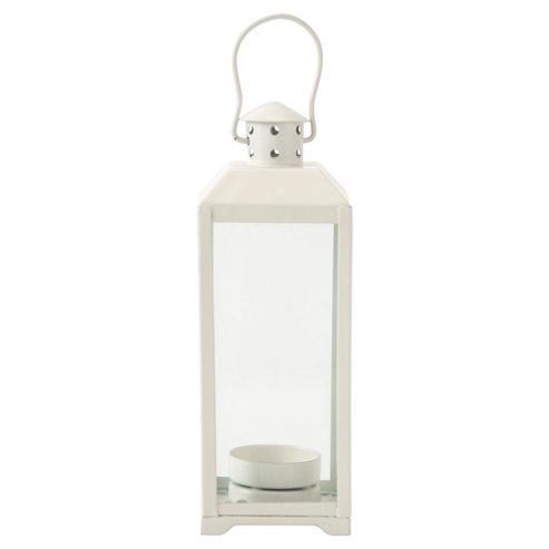 Tesco Lantern White