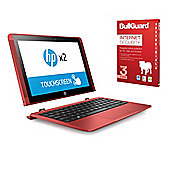"HP x2 10-p010na 10.1"" 2 in 1 Laptop Tablet Intel Atom x5-Z8350 4GB 500GB Detachable keyboard Win 10 with Internet Security - 1AP69EA#ABU"