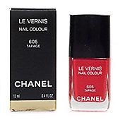 Chanel Le Vernis Fuchsia Nail Polish 605 Tapage
