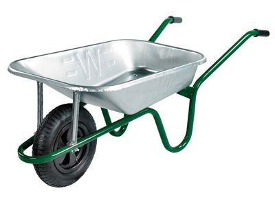 Walsall 85L Heavy-Duty Galvanised Barrows Min Quantity of 15 Mixed Only