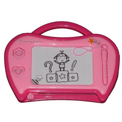 A to Z Magic Drawing Board Pink