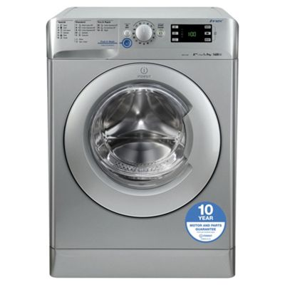 Indesit XWE 91483X S UK 9kg, 1400rpm Washing Machine - Silver