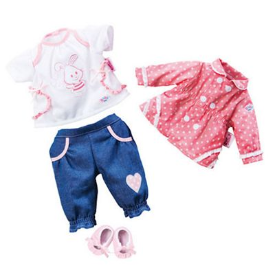Zapf Creation My Little Baby Born Deluxe Going Out Set