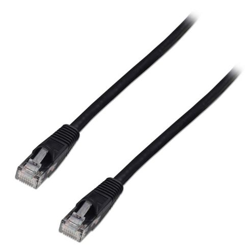 LINDY 0.3m CAT6 UTP Snagless Network Cable Black
