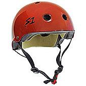 S1 Helmet Company Mini Lifer Helmet - Red Gloss (Large)