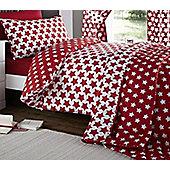Etoile, Red Star Toddler / Junior Bedding Bundle 4.5 Tog 120 x 150