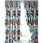 Fire Engines, Pale Blue Curtains, 54s