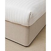 Belledorm 19 Inch Linen Bed Base Wrap - Double
