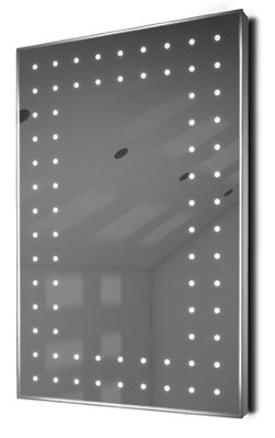 Ambient Shaver LED Bathroom Illuminated Mirror With Demister Pad & Sensor K43sw