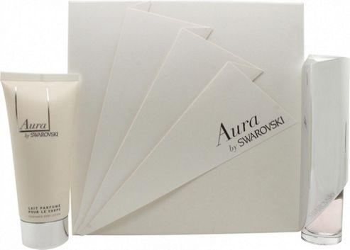 Swarovski Aura Gift Set 50ml EDT + 100ml Body Lotion For Women