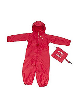 Hippychick All-in-One Packasuit - Red - Red