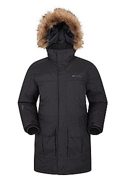 Mountain Warehouse Antarctic Extreme Mens Down Jacket - Black