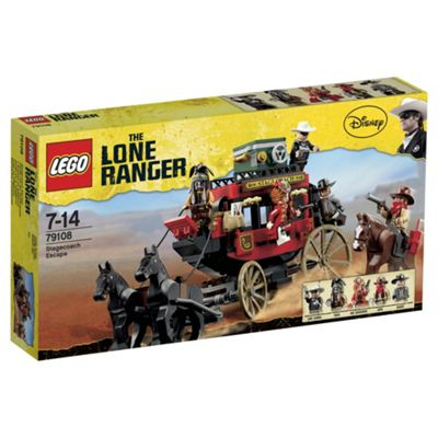 LEGO Lone Ranger TM Stagecoach Escape 79108