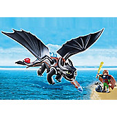 Playmobil Hiccup and Toothless