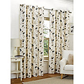 Hamilton McBride April Eyelet Lined Curtains - Taupe