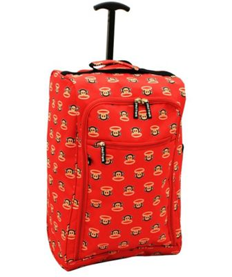 Paul Frank Julius Monkey 2 Wheel Cabin Suitcase