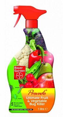 Bayer Garden Ultimate Provado Fruit & Veg Bug Killer 1 Litre Spray