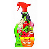 Bayer Garden Ultimate Provado Fruit & Veg Bug Killer 1 Litre Spray