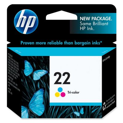 HP 22 Tri-Colour (Yield 165 Pages) InkJet Print Cartridge
