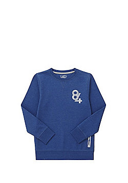 F&F 84 Sweatshirt with As New Technology - Blue
