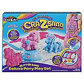 Cra-Z-Sand Glitter Sand Deluxe Pony Playset
