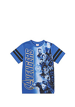 Marvel Avengers Infinity War T-Shirt - Blue & Multi