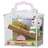 Sylvanian Families Cat on See-Saw Baby Carry Case