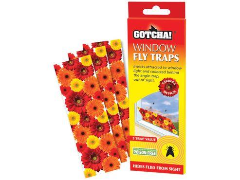 Stv Stv012 Window Fly Trap X3