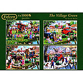The Village Green - 4 x 1000pc Puzzle