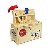 Casdon Wood Play Tool Kit Boxset