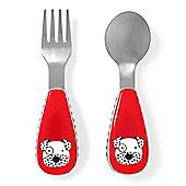 Children's Skip Hop Cutlery Set - Dalmatian, Children's Cutlery, Toddler Cutlery, Baby Cutlery