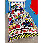 Lego City Demolition Single Duvet Cover Set