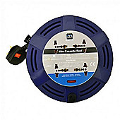 Masterplug Universal 4-Way 10m Extension Reel