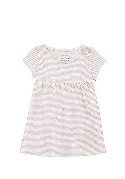 F&F Striped Smock Dress - Pink & White