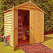 Finewood Overlap Apex 4x6ft Double Door Shed
