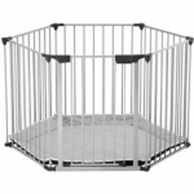 BabyDan BabyDen PlayPen Silver with Grey Mat  sc 1 st  Tesco & Buy BabyDan BabyDen PlayPen Silver with Grey Mat from our Playpens ...