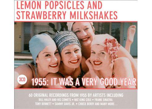 Lemon Popsicle Strawberry Milkshake - 1955
